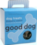 blueberry natural dog treats