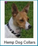 eco-friendly hemp dog collars