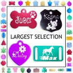 image of pet id tags for dogs