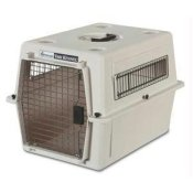 petmate ultra traditional vari kennel portable crate x-large 39x26x30 - airline approved dog crate