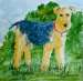 airedale terrier art