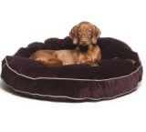 Bowsers Super Soft Round Dog Bed, Large 44-inch