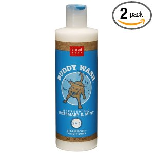 buddy wash organic dog shampoo
