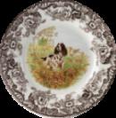 english spring spaniel decorative spode plate
