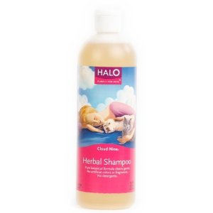 organic dog shampoo - Halo