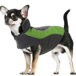 Fleece Reflective Dog Coat