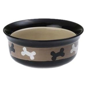 natural organic dog food dog bowl