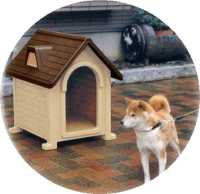 image of pet cottage dog house