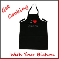 bichon apron
