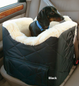 dog seat belts - with dog car seat