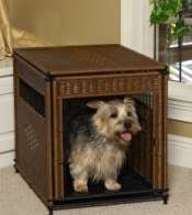 unique dog houses, Mr. Herzher's indoor pet residence