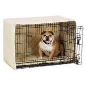 pet dreams medium size, 3-piece crate cover set for side door crate