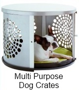 multi-purpose dog crates