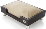 LazyBonezz Madison modern  Dog Bed, Espresso