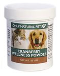 canine urinary incontinence, cranberry wellness