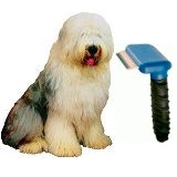 furminator and old english sheepdog
