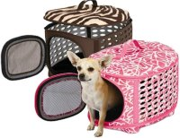 Luxury Pet Carrier, Small, Pink</a>