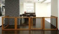 Richell 6-panel convertible dog gate