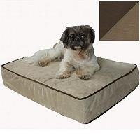 image of thick foam orthopedic bed for dogs
