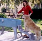 booster bath with steps for dogs