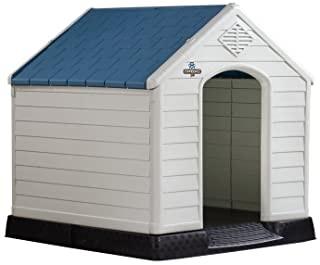 large plastic dog house