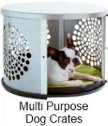 multi-purpose dog crates