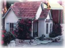 custom dog house cottage style