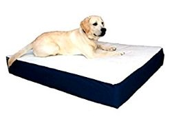 image of Majestic Pet 34-Inch by 48-Inch Orthopedic Double Pet Bed