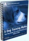 dog training myths report