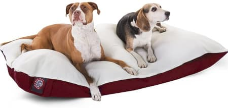 Two dog pillow bed