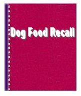 dog food recall list