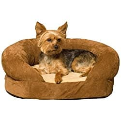 wrap around couch dog bed in several sizes