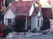 custom cottage style unique dog house
