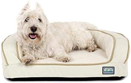 Memory Foam Bolster dog sofa