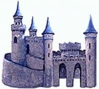 castle dog house image