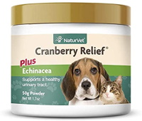 Cranberry relief for dogs