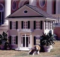 custom made luxury dog houses