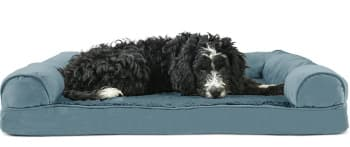 FurHaven Ultra Plush Sofa-Style orthopedic dog bed