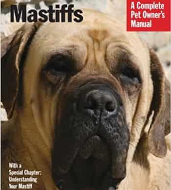 mastiff dog manual cover
