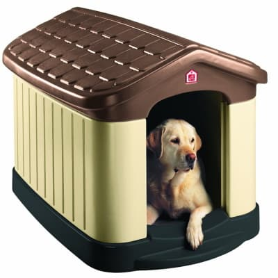 rugged plastic doghouse