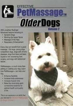 massage for older dogs