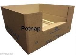 corrugated cardboard whelping box by petnap