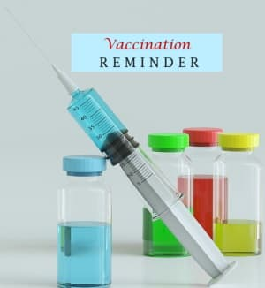dog vaccination reminder image
