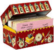 dog recipe box
